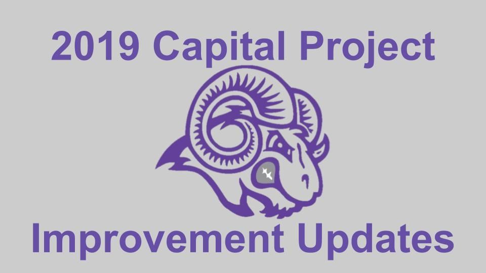 Capital Project Improvement Plan Updates